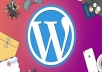 تركيب ووردبريس  قالب  6 اضافات  مفتاح ترخيص المصرح من شركة