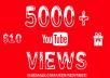 جلب 2000 مشاهدة حقيقية وآمنة 100% لأي فيديو على اليوتيوب   هدايا ومميزات رائعة