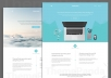 إنشاء صفحة هبوط  landing page  احترافية مناسبة لمدونتك