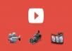 منتجة فيديوهات اليوتيوب لجميع انواع المحتوى