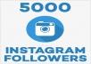 5000 متتبع للانستغرام