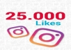 25.000 لايك أنستجرام مكس  100 متابع