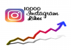 إضافة 10000 لايك لصورك أو فيديوهاتك على الانستغرام تنفيذ فوري وسريع