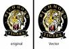 تحويل صورتك او شعارك الي Vector خلال 1 الي 10 ساعات