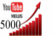 أقوي عرض 5000 مشاهدة يوتيوب ضمان عدم النقص تنفيذ خلال 24ساعه