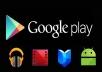 تحميل تطبيقك على متجر قوقل بلاي و اضافة تعليقات و التقييم