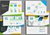 تصميم عرض تقديمي متطور باستخدام الإنفوجرافيك بجودة ودقة عالية ستبهر من حولك كل 5 شرائح ب5 دولار .