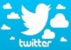 ساقوم بعمل 100 ريتويت لتغريدتك على تويتر من جميع دول العالم