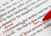 تدقيق اللغة المستعملة في المقالات والنصوص العربية والإنجليزية