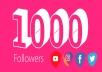 سأزود حسابك بـ 1000 متابع حقيقي وآمن 100%