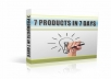 7 Products In 7 Days MRR Bonus Product