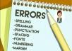 تدقيق وتصحيح ملفات اللغة الإنجليزية بدقة وسرعة  500 كلمة=5$