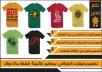 تصميم تيشرت احترافي بمعايير عالمية فقط ب 5 دولار Tshirt
