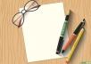 كتابة قصة قصيرة لا تتعدي ال20 صفحة