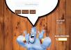 إنشاء صفحات هبوط تفاعلية تتخاطب مع الزائر بالصوت والصورة والإستضافة مجانية مع الصاب دومين