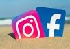 3000 متابع لحسابك في انستجرام او الفيسبوك