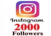 اضافة 2000 متابع حقيقي في انستقرام في اقل وقت