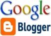 إنشاء 5 محتويات جيدة على مدونة بلوجر