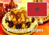تعلم وصفات و طريقة تحظير ألذ الأطباق المغربية المطبخ المغربي بين يديك