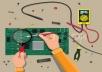 كتابة ابحاث عن الميكروكنتروللر والمكونات الالكترونية 5 صفحات