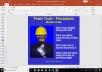 سلايدات السلامة العامة العالمية OSHA