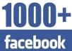جلب 1000 لايك لصفحتك على الفايسبوك و متفاعلين
