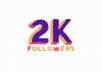 2000 متابع انستقرام حقيقي متفاعل سريع و بجودة عالية