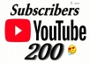 اقدم 200 مشترك في قناتك على اليوتيب بشكل مضمون ودائم