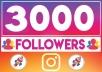 3000 متابع انستغرام حقيقيين ومتفاعلين من جميع دول العالم