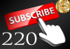 احصل على 220 مشترك حقيقي لقناتك على اليوتوب مقابل 5 دولار و بضمان حقيقي