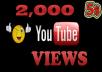 احصل على1500 مشاهدة لأحد فيديوهاتك على قناتك في اليوتيوب بـــ 5 دولار