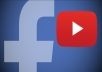 سأنشر فيديوهات قناتك في 100 مجموعة على الفيسبوك فقط ب 5$