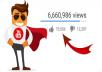احصل على 5000 مشاهدة لفيديوهاتك على اليوتوب