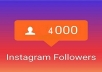 4000 متابع علي انستغرام ب 5 $