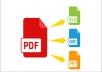 تفريغ صوتي ;صور ; ملفات pdf الىword excel power point