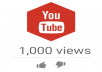 زيادة 1000 مشاهدة في اليوتوب youtube