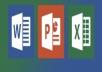 إنشاء word powerpoint excel