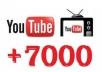 احصل على7000 مشاهدة لأحد فيديوهاتك على قناتك في اليوتيوب بـــ 10دولار