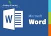 كتابة اي مقال على ملفات الوورد بالعربية او الانجليزية