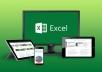 سأقوم بتحظير ملف Excel بعمليات حسابية معقدة لتسهيل عملك بنقرات قليلة