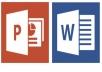 انشاء presentation او اي شي باستخدام word or power point