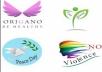 شعارات احترافية بألوان جذابة