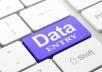 تفريغ وملء البيانات على برنامج اكسل أو الوورد