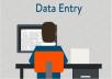 ادخال البيانات على الوورد والاكسل او تحويل ملف PDF إلى وورد