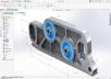 تصميم ميكانيكى للاجزاء الميكانيكية 3 قطع ب 5$