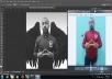 اقوم بتعديل كامل للصورة من حيث   قص   ريتاتش كامل للصورة   أضافة أضاءاة   حسب المتفق و ذلك لـ عدد 3 صورة