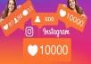 1500 متابع على انستقرام