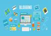 إضافة 100 مقال الى مدونتك