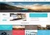تصميم html and CSS website
