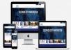 تصميم وتطوير موقع ويب او تكويد تصميم PSD الى صفحه HTML